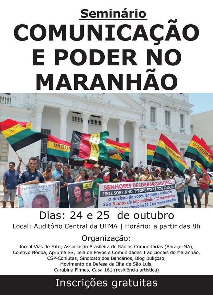 I Seminário Comunicação e Poder no Maranhão dc4a3497ee8b2